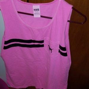 Victoria secret pink tank tops